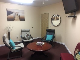 Group Family Therapy Room