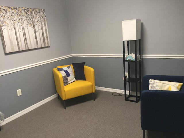 Yellow Chair in Mount Dora Office