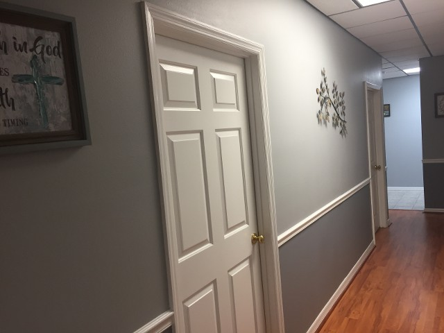 Mount Dora Office, Door in Hallway